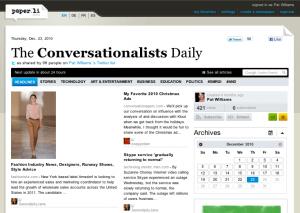 Conversationalists Daily Paper.li