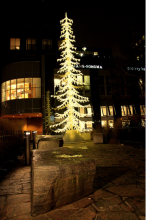 Yorkville Christmas Tree By wyliepoon on Flickr