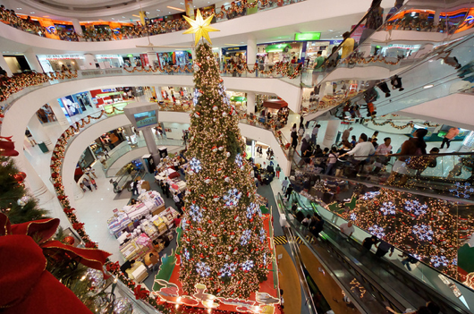 Christmas Decoration @ Tampines Mall 2010 by xcode on Flickr