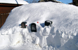 Buried Mailboxes By caffeine_obsessed