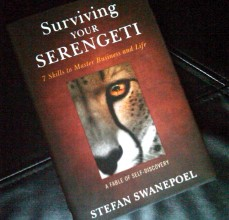 Surviving Your Serengeti Book by Swanepoel