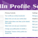 Becoming Familiar with Your LinkedIn Profile Settings