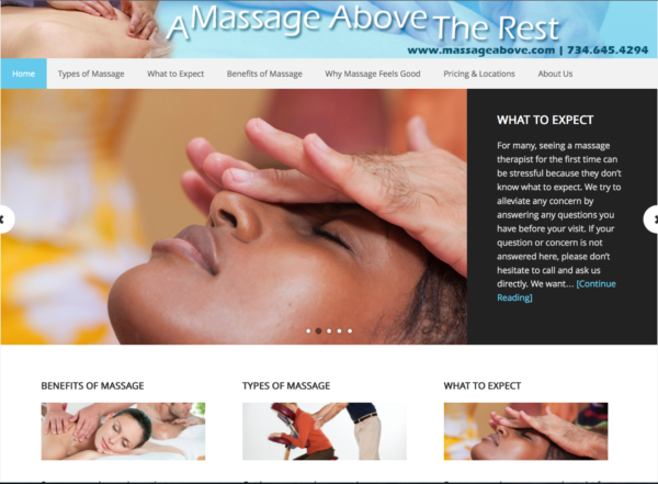 MassageAbove.com
