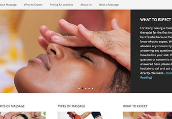 Websites for Massage Therapists