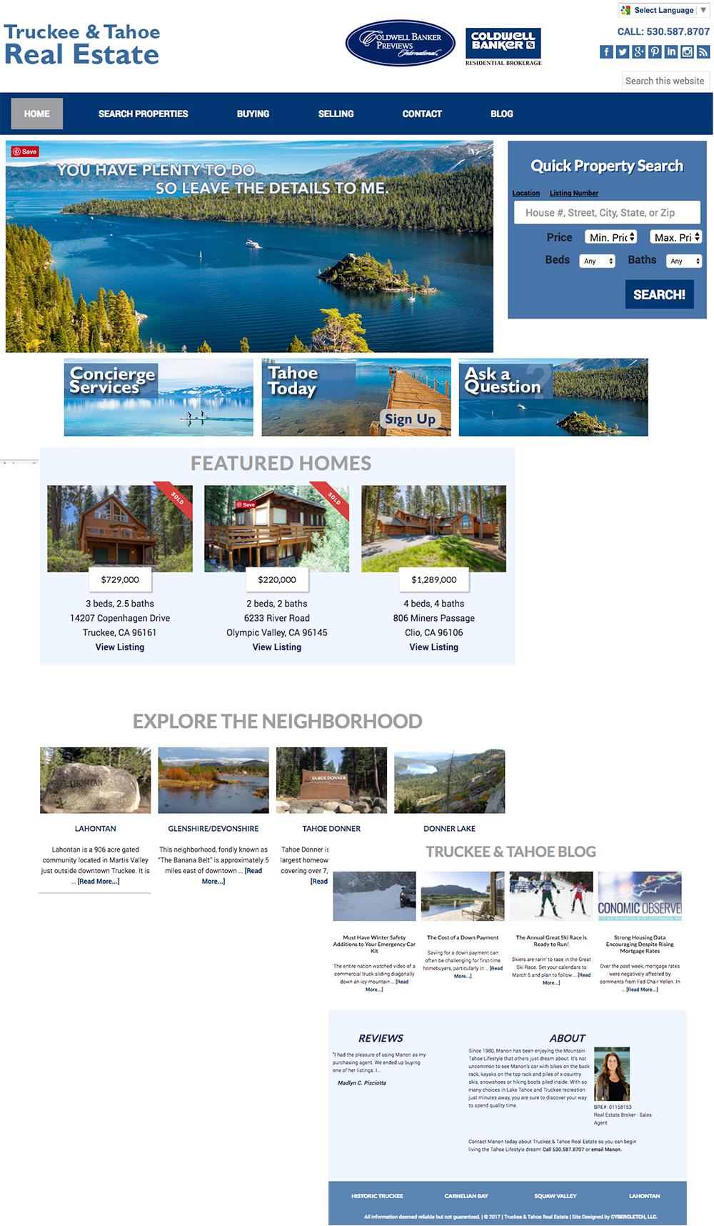 Tahoe4Sale.com website build