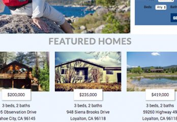 Lake Tahoe Real Estate Websites