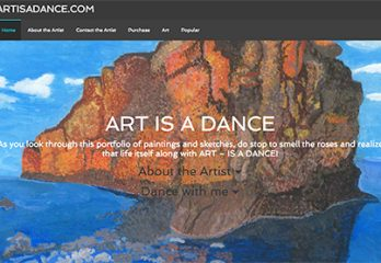 sample-artist-websites