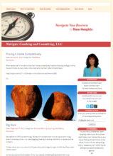 Real Estate Coach Website - Navigate