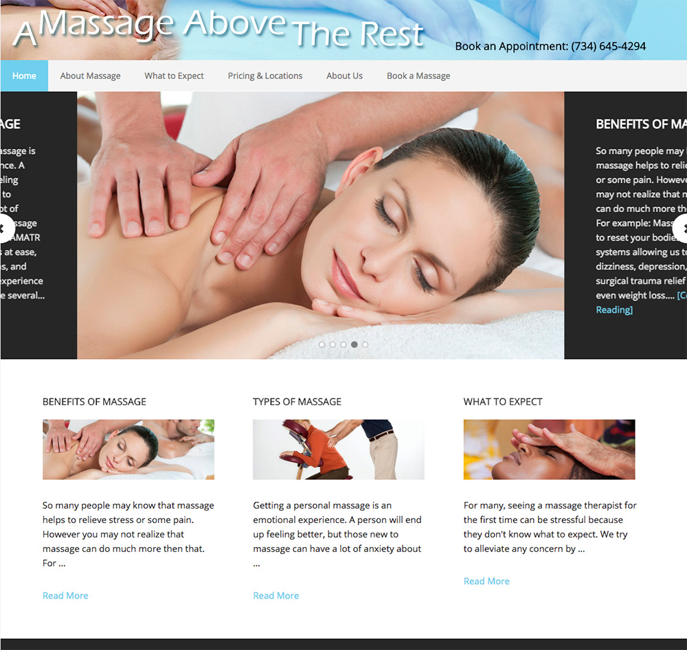 massage-website-creation