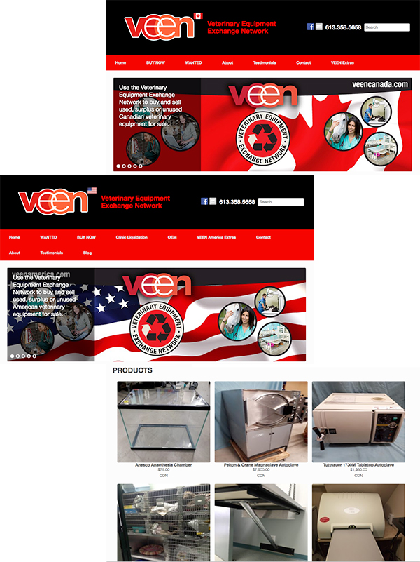 veterinary-equipment-exchange-network-website-portfolio