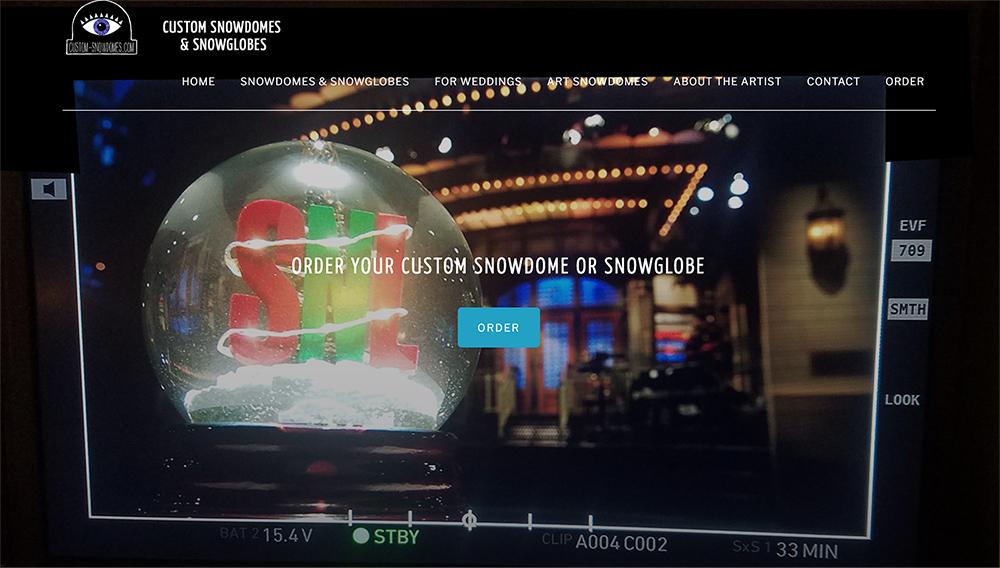 Custom-snowdomes.com Website Redesign