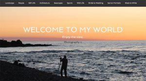 Website for Photographer's Portfolio