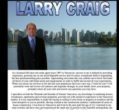 Larry Craig Realty 1st Generation website