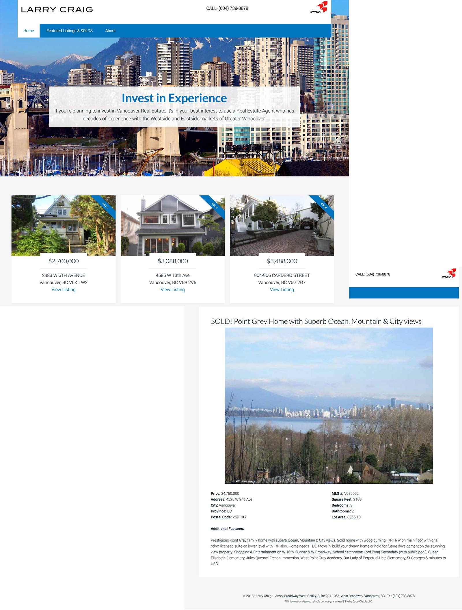 2nd Generation Vancouver Real Estate Website